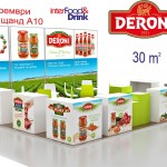 Deroni на Interfood & Drink 2015 – Интер Експо Център
